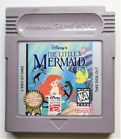 The Little Mermaid Video Game for Nintendo Game Boy TESTED