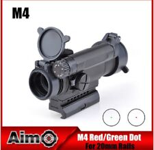 AIMO AIM M4 Red Dot TATTICO PUNTO ROSSO NERO BLACK SOFTAIR AIRSOFT