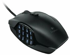 Logitech G600 MMO Gaming Mouse - Laser - Cable - Black - USB - 8200 (910002864)