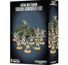 ARMOURED ASSAULT: ASTRA MILITARUM CADIAN ARMOURED FIST -Games Workshop Warhammer