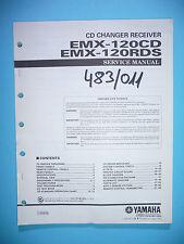 Manuel de Reparation pour Yamaha EMX-120 CD/EMX-120 RDS, Original