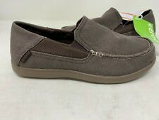 NEW! Crocs Men's Santa Cruz 2 Luxe Loafers Espresso/Walnu #202056 Size:7 146N z