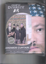 Duck Dynasty Camouflage Shower Curtain ~ Microfiber 72in. X 72in.
