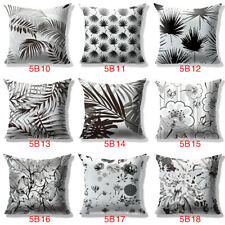 18 Design Plants Flower Natural Pillow Case Sofa Car Cushion Cover Home Decor