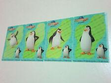 Penguins of Madagascar Skipper Private Kowalski Rico 3D cards