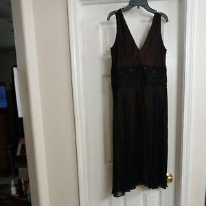 Jones new York dress womens size 12 cocktail dress