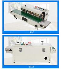 Auto Continous Band Sealer Machine Pvc Pp Heat Sealer 110v Fr 770