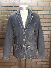 Women's Levi Strauss Signature Distressed Denim Jacket Unlined size Small
