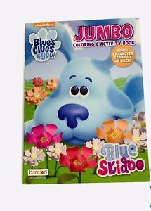 Nickelodeon Blue's Clues And You Jumbo Coloring And Activity Book Blues Skidoo