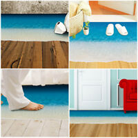 3D Beach Floor/Wall Sticker Removable Mural Decals Vinyl Art Living Room Decor