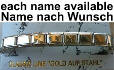 Bracelet KTM Stainless Name Custom Name Suitable For Nomination