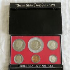 USA 1979 s 6 COIN PROOF YEAR SET WITH DOLLAR - sealed/outer