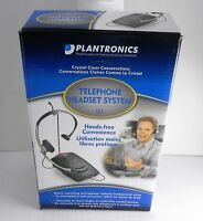 Plantronics S11 Telephone Corded Headset System