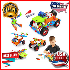 165 Pcs Educational Toys Learning Toy Construction Kit Engineering Fun for Kids