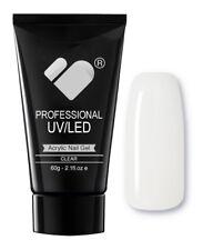 CLEAR VB Line Transparent Nail Acrylic Builder Gel 60g - UV/LED Professional Gel