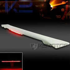 03-08 Toyota Corolla ABS Factory Style Rear Trunk Spoiler Wing+LED Brake Light