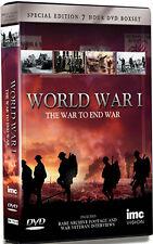 DVD:WW1 - WAR TO END WAR - NEW Region 2 UK