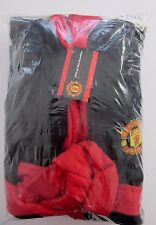 MANCHESTER UTD ADULT FLEECE SIZE LARGE ROBE OFFICIAL MAN.U RRP $80 BNWT  E3