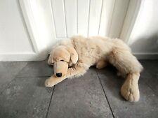 "Giant Golden Labrador Dog Plush Soft Toy Large 42"" Realistic"