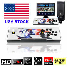 800 Pandora's Box 4s Double Stick Retro Arcade Console with Video Audio Games US