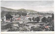 Tinted Postcard Birds Eye View of Jobs, Ohio~103575
