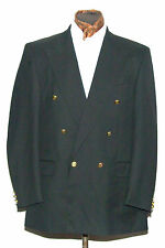 """CONNOISSEUR DOUBLE BREASTED BLACK BLAZER JACKET 42"""" R"""