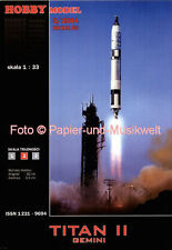 "Hobby Model - 83 - Rakete ""Titan II"" mit ""Gemini"" - 1:33"