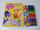 enfants GAMINS Girls My Little Pony coloriage Activité Livre + 25 Couleur Stylos