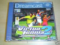 VIRTUA TENNIS 2 SEGA DREAMCAST PAL *BRAND NEW*