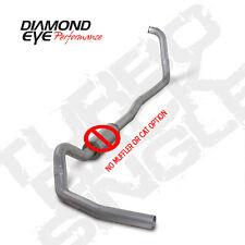 "Diamond Eye 4"" Alum Turbo Back Exhaust No Mflr 03-07 Ford SuperDuty 6.0L Diesel"
