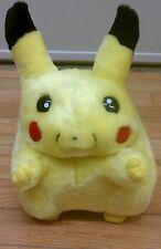 """Pikachu stuffed animal ,10"""" new old stock, pokemon plush"""