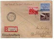 1944 Arnheim Holland Registered Cover to Germany Dienstpost
