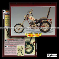 #061.07 Fiche Moto FANTIC 125 CHOPPER Modèle 1977 Motorcycle Card