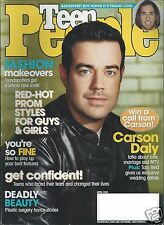 Carson Daly Teen People Magazine April 2001 Howie Dorough Bacstreet Boys LFO