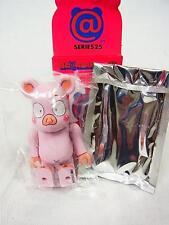 "Medicom Bearbrick Series 25 Secret Hero ""Pink Pig"" Be@rbrick"