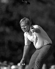 1986 Masters Pro Golfer JACK NICKLAUS Glossy 8x10 Photo PGA Golf Print Poster