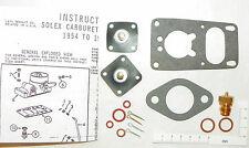 Solex 1B 28 PCI 1954 - 60 1200cc Volkswagen Carburetor Repair Kit VW BUG Beetle