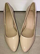 Size 11 Tan Heel Shoe - Patent Leather style - Target