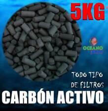 5KG CARBON ACTIVO ACUARIO FILTRO MOCHILA EXTERIOR INTERIOR INTERNO ACTIVADO