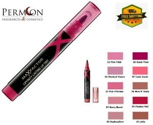 MAX FACTOR Lipfinity Lasting Intense Colour Lip Tint Pen New and Sealed 8 Shades