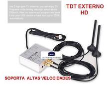 SINTONIZADOR TDT HD externo COCHE, DOBLE ANTENA , ALTA VELOCIDAD, MPEG4 MPEG2