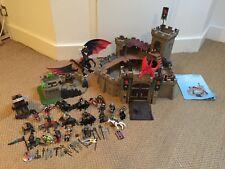 Playmobil chevaliers et château Bundle