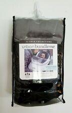 JJ Cole Collections URBAN BUNDLE ME Infant Car Seat Cover STEALTH Black Gray