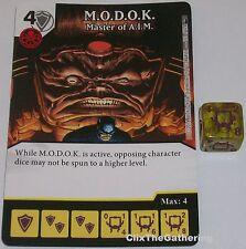 M.O.D.O.K: MASTER OF A.I.M. 101 Deadpool Dice Masters Rare MODOK AIM
