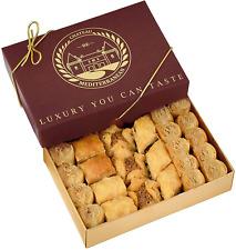 Baklava Sweet Bitesize 24 Pieces Château Mediterranean Gift Box Ribbon UK Stock