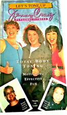 Jenny Craig Personal Fitness Total Body Toning 1996 New Sealed VHS
