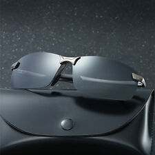 Men's Polarized Aviator Sunglasses Outdoor Driving Fishing Sport Eyewear Fashion