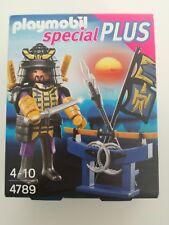 Playmobil 4789 - Samurai with Katana & Weapon stand (MISB, NRFP, OVP)