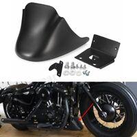 Spoiler avant noir mat menton carénage pour Harley Davidson Sportster XL883 1200
