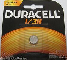 1 Duracell DL1/3N 1/3N 2L76 3V Battery Exp.2024